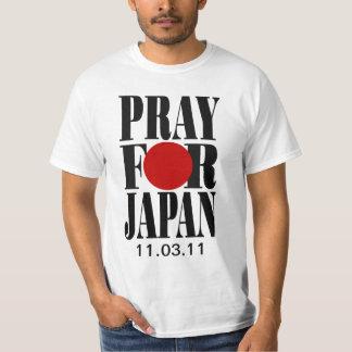 Pray para Japão T-shirt