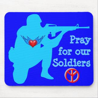 pray para nosso mousepad dos soldados