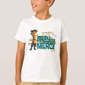 Pray para o compaixão 2 (azuis) camiseta