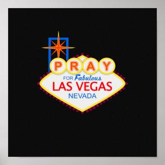 Pray para o poster de Las Vegas