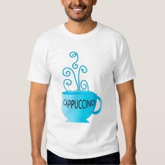 Prazer azul do Cappuccino Tshirts