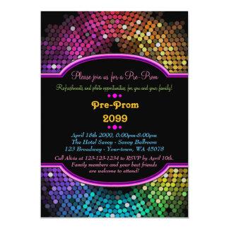 Pre baile de formatura, Pre-Baile de formatura, Convite 12.7 X 17.78cm