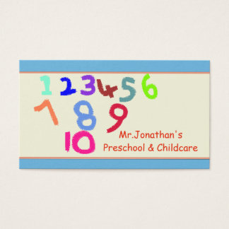 Pré-escolar e cartão de visita da puericultura