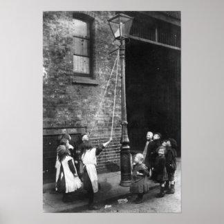 Precários de Londres, c.1900 Poster