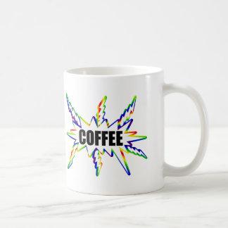 Precipitação do café caneca de café