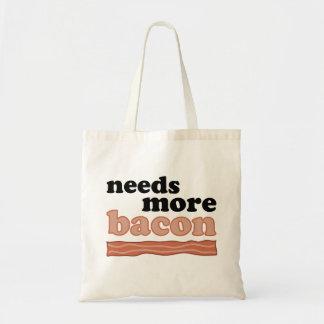 Precisa mais sacola do bacon bolsas