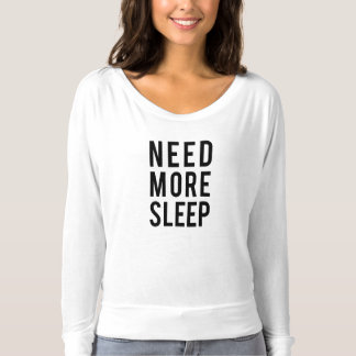 precise mais sono camiseta