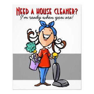 Precise um líquido de limpeza da casa? Insecto Modelo De Panfleto