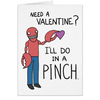 """""""Precise uns namorados?"""" Cartão do Lobsterman"""