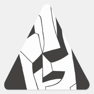 Preço de Eddie - AKA opitz Adesivo Triangular