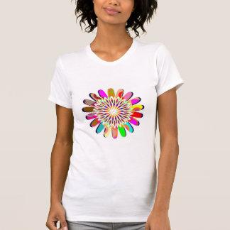 PREÇO DE VENDA: Camisa louca colorida dos DISCOS T-shirt