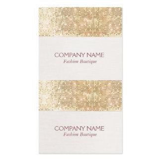 Preço do Sequin Sparkly do ouro mini presente ou Modelos Cartoes De Visitas