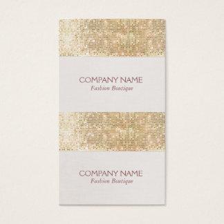 Preço do Sequin Sparkly do ouro mini, presente ou Cartão De Visitas