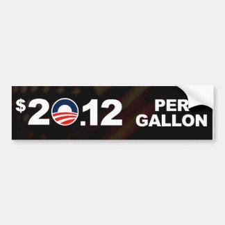 Preços de gás altos bem-vindos adesivo para carro