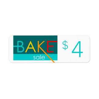preços tipográficos da venda do assar etiqueta endereço de retorno