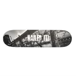 Pregado o plataforma do skate