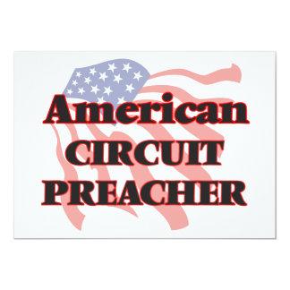 Pregador americano do circuito convite 12.7 x 17.78cm