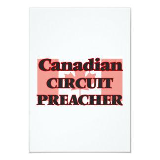 Pregador canadense do circuito convite 8.89 x 12.7cm