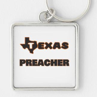 Pregador de Texas Chaveiro Quadrado Na Cor Prata
