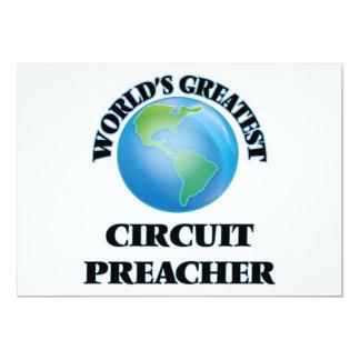 Pregador do circuito do mundo o grande convite 12.7 x 17.78cm
