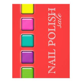 Pregue a paleta colorida da beleza do insecto do s panfletos personalizados