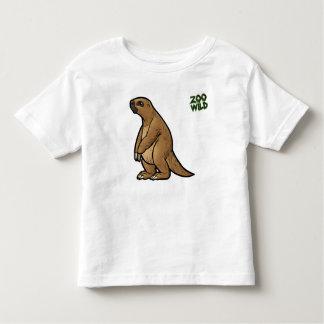 Preguiça à terra gigante camiseta infantil