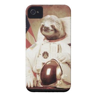 Preguiça do astronauta capas para iPhone 4 Case-Mate