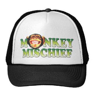 Prejuízo do macaco bonés