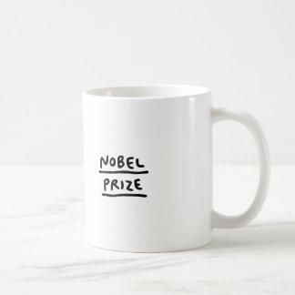 Prémio nobel caneca de café