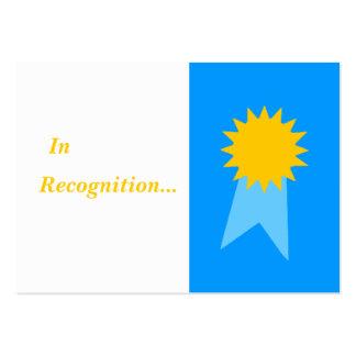 Prêmios diários do professor elementar para cartão de visita grande