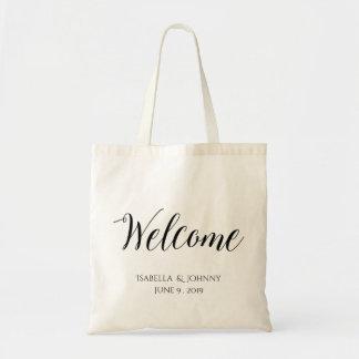 Presente bem-vindo de Welcome|wedding Sacola Tote Budget