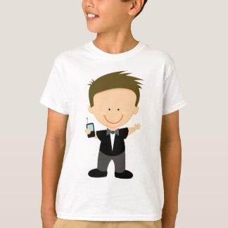 Presente bonito da camiseta dos miúdos do espião