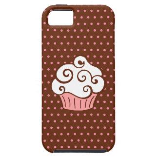 Presente bonito das capas de iphone do cupcake