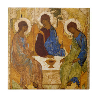 Presente católico bizantino de Rublev do ícone da