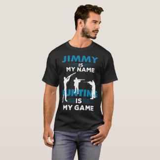 Presente conhecido do roupa da camisa de Jimmy do