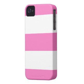 Presente cor-de-rosa & branco bonito novo da caixa capa para iPhone