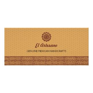 Presente cor-de-rosa do mexicano dourado panfleto informativo personalizado