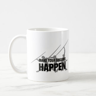 Presente da caneca de café do dardo do atletismo