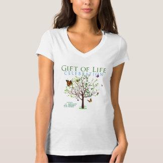 Presente da celebração da vida t-shirt