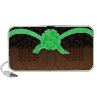 Presente de aniversário esverdeado elegante da fit caixinha de som de viagem