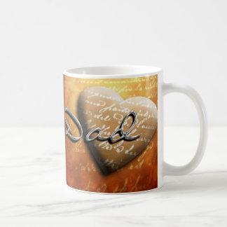 Presente de época natalícia do pai caneca de café