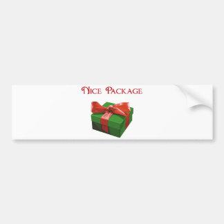 Presente de Natal agradável do pacote Adesivo Para Carro