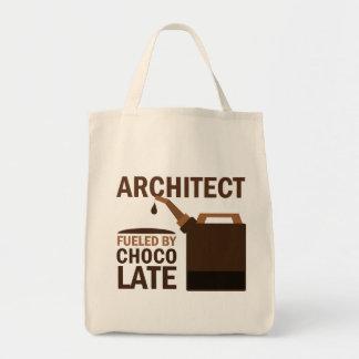 Presente do arquiteto (engraçado) bolsa tote