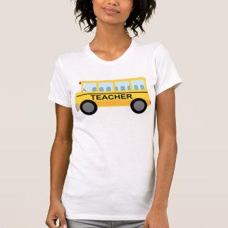 Presente do auto escolar do professor t-shirt