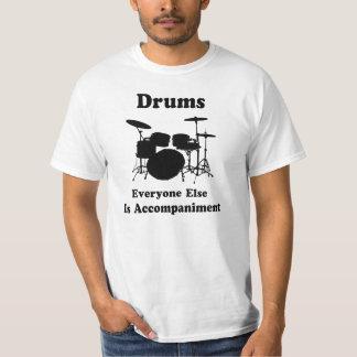 Presente do baterista camiseta