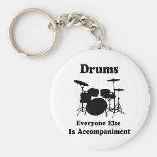 Presente do baterista chaveiro