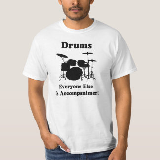 Presente do baterista t-shirts