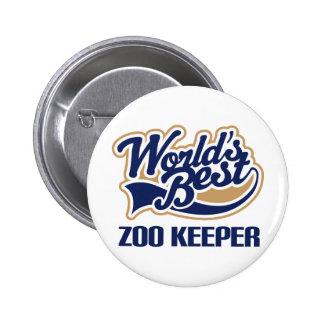 Presente do depositário de jardim zoológico botons
