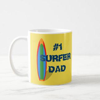 Presente do dia dos pais da caneca de café do dia