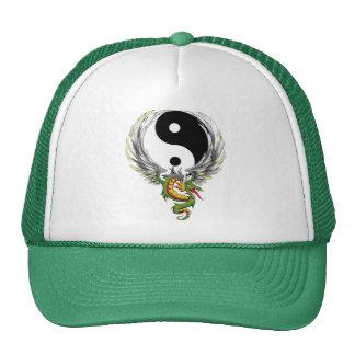 Presente do dragão de Yin Yang Boné